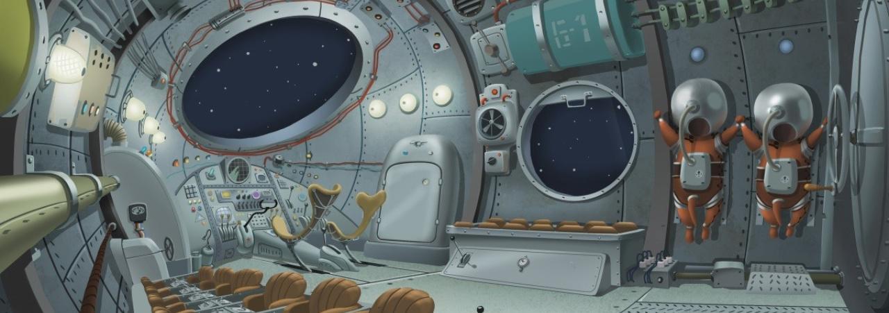Мультфильмы про космос