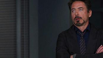 Tony Stark face